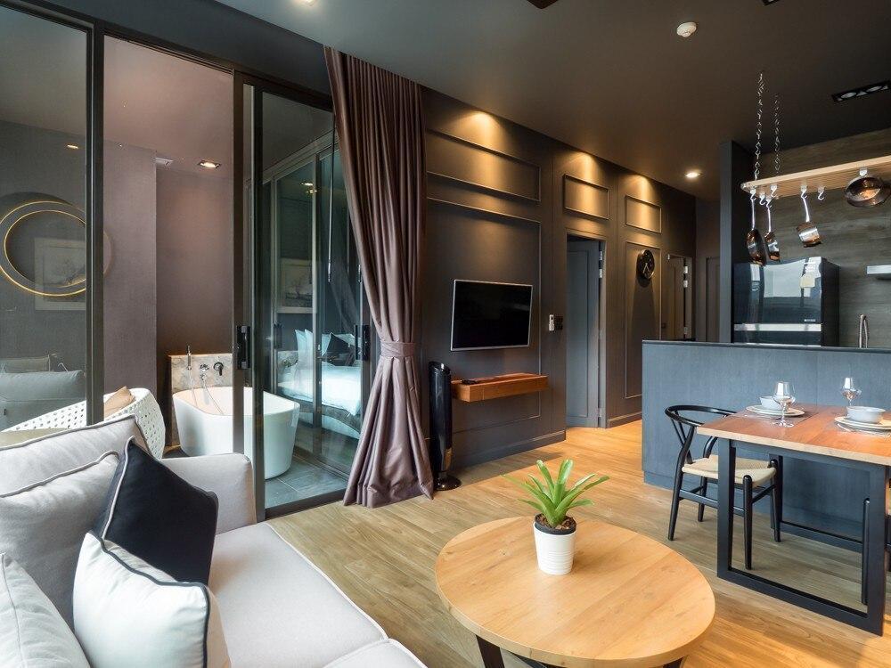 1 BDR Stylish with Pool View Apartment in Rawai อพาร์ตเมนต์ 1 ห้องนอน 1 ห้องน้ำส่วนตัว ขนาด 57 ตร.ม. – หาดราไวย์