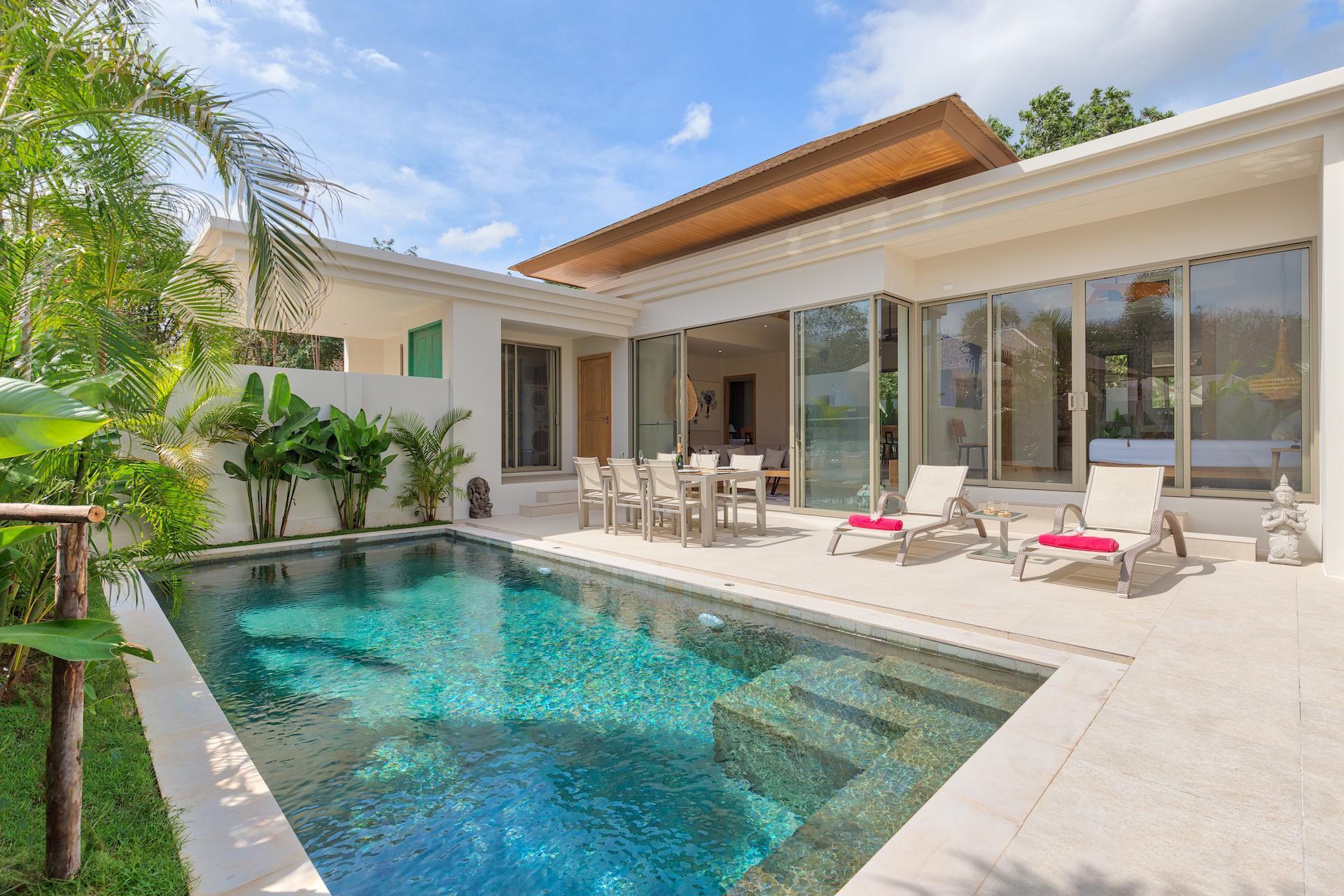 Dream Tropical Villa With 3 Bedrooms วิลลา 3 ห้องนอน 2 ห้องน้ำส่วนตัว ขนาด 309 ตร.ม. – บางเทา