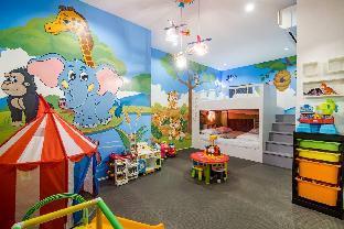 [ヒンレックファイ]ヴィラ(30m2)| 3ベッドルーム/3バスルーム Hua Hin Pool Villa Kids club Slider CoCo melon