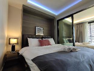 [スクンビット]アパートメント(46m2)| 1ベッドルーム/1バスルーム Bangkok&Pool&BTS Asoke&MRT Sukhumvit&Max4ppl