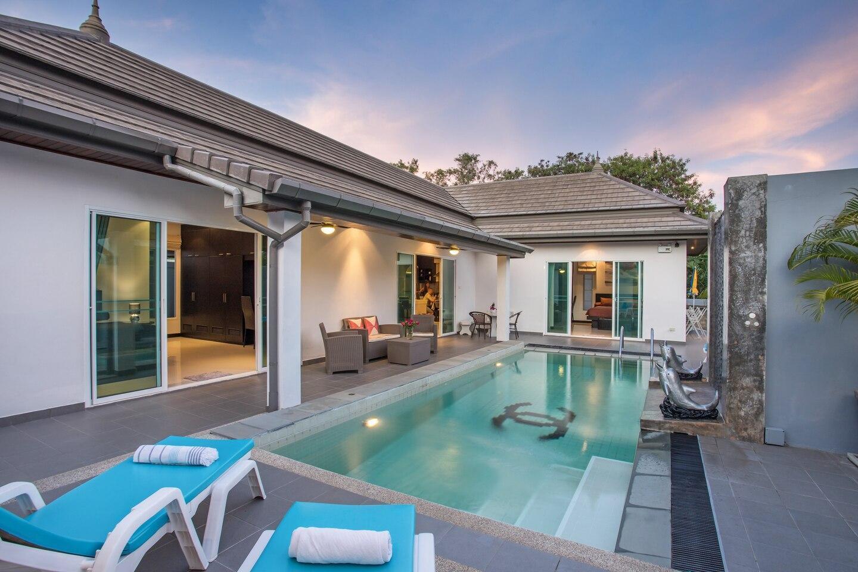 Villa Marine บ้านเดี่ยว 3 ห้องนอน 3 ห้องน้ำส่วนตัว ขนาด 180 ตร.ม. – ในหาน