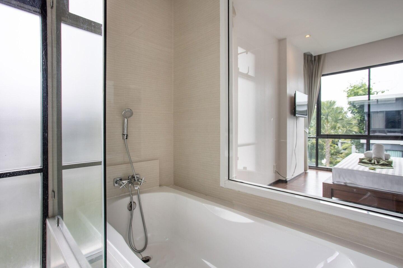 The Title F403 บ้านเดี่ยว 1 ห้องนอน 1 ห้องน้ำส่วนตัว ขนาด 45 ตร.ม. – หาดราไวย์