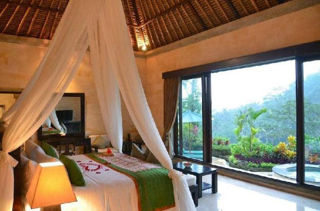 1BR Gorgeous Villa with Pool & beauteous View@Ubud