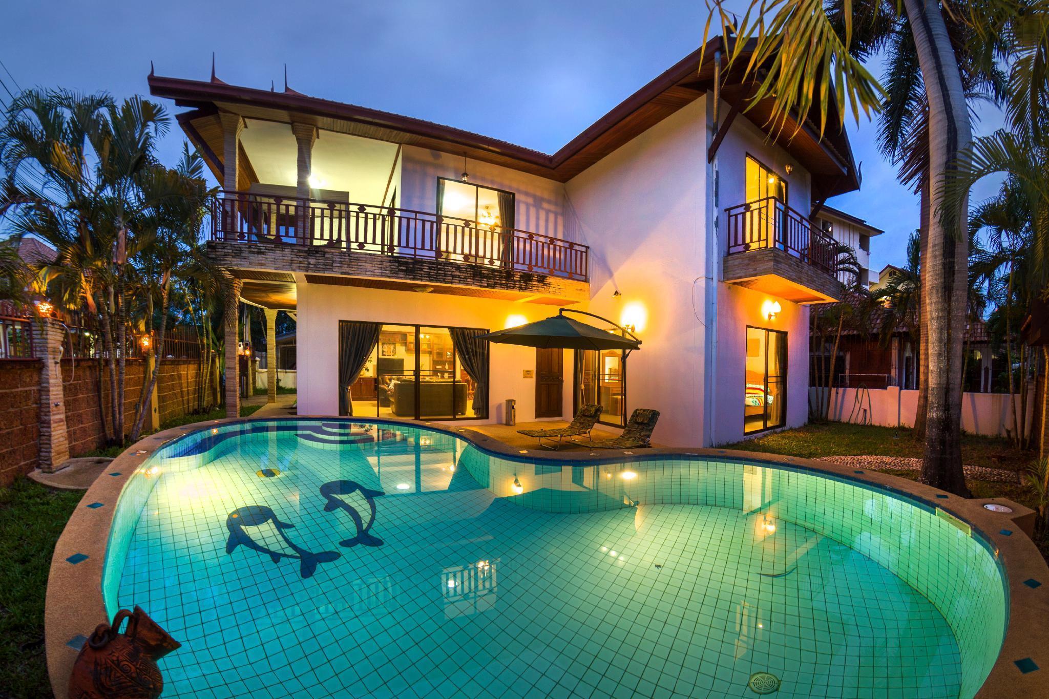 Villa Uranus วิลลา 4 ห้องนอน 3 ห้องน้ำส่วนตัว ขนาด 2200 ตร.ม. – พัทยาใต้