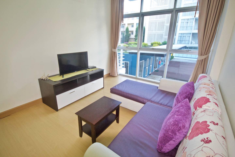 At Sea Condo @ 1-bedroom C 205 บ้านเดี่ยว 1 ห้องนอน 1 ห้องน้ำส่วนตัว ขนาด 52 ตร.ม. – หาดคลองม่วง