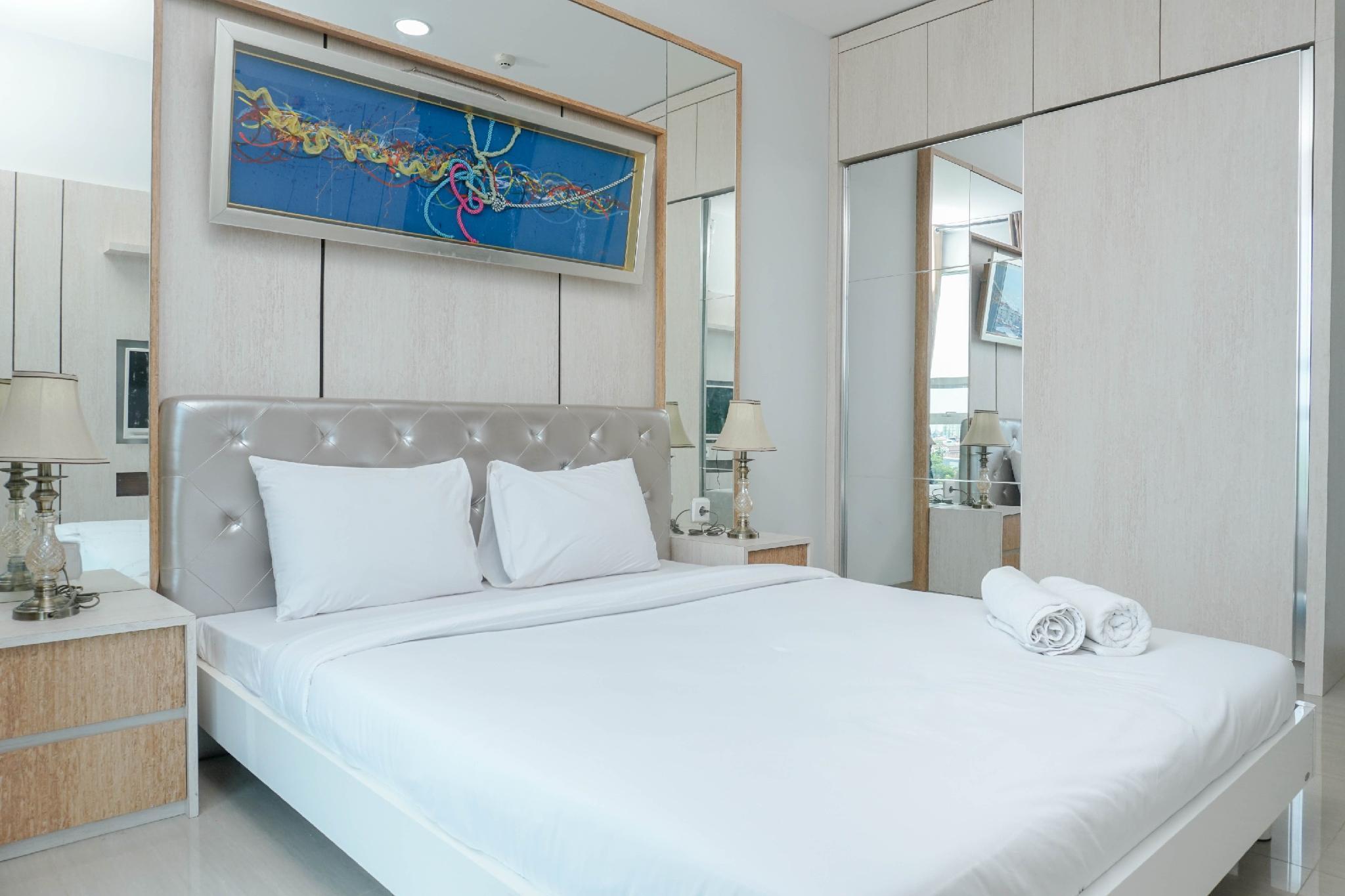 Minimalist 1BR CitraLake Suites Apt By Travelio