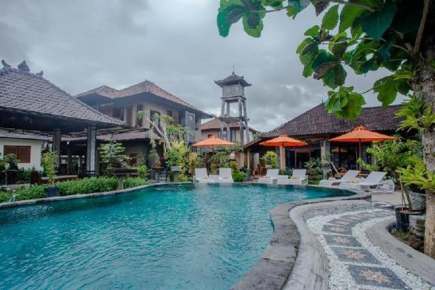 1BR Deluxe Pool Villa included Breakfast @Ubud