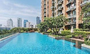 [スクンビット]アパートメント(30m2)| 1ベッドルーム/1バスルーム Minimal Decor 190m from MRT Petchaburi