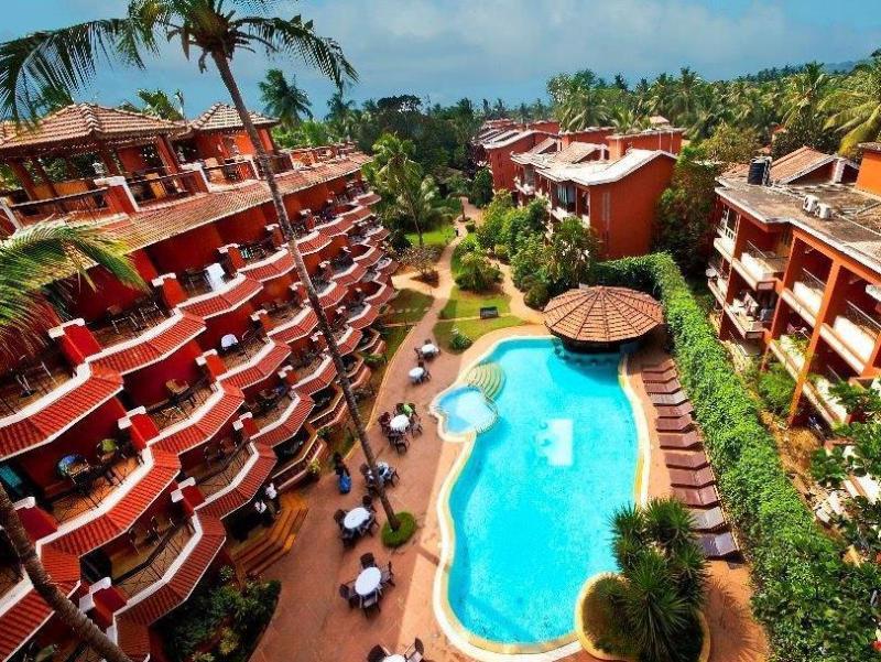 The Baga Marina Beach Resort Hotel North Goa