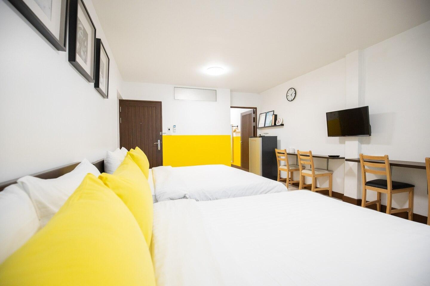 HOMEROOM L3 in Center of Bangkok, Walkable to Mall