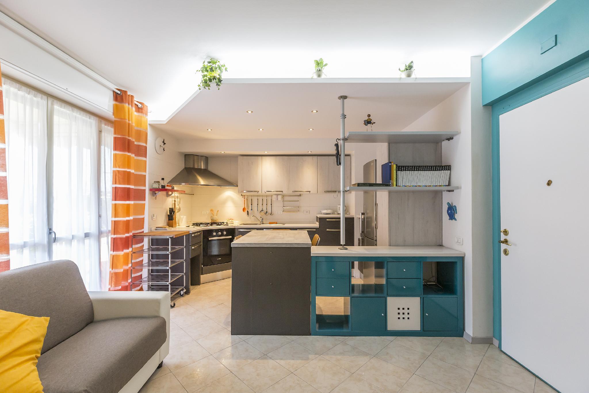 Cozy 1 BR in the residential Lorenteggio