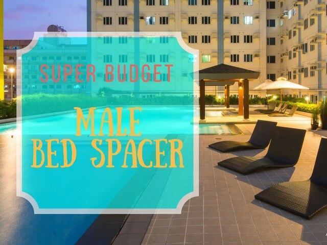 Super Budget Condo Male Bedspace
