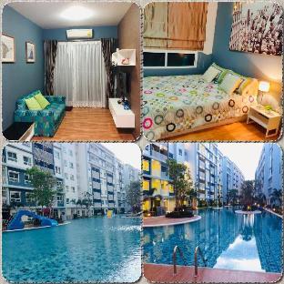 [ホアヒン市内中心地]アパートメント(33m2)| 1ベッドルーム/1バスルーム The trust condo Comfortable accommodation likehome