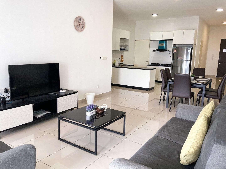 JB Entire Apartment~Near KSL,Midvalley,R&F,CIQ❤
