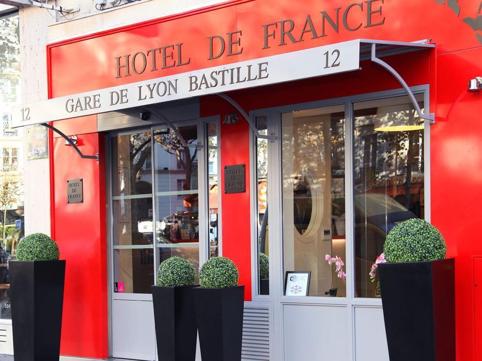 Hotel de France Gare de Lyon Bastille