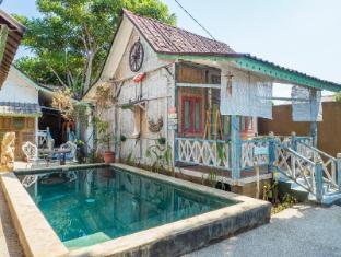 Rumah Desa 4 Room Villa with AC/hot water & pool - Lombok
