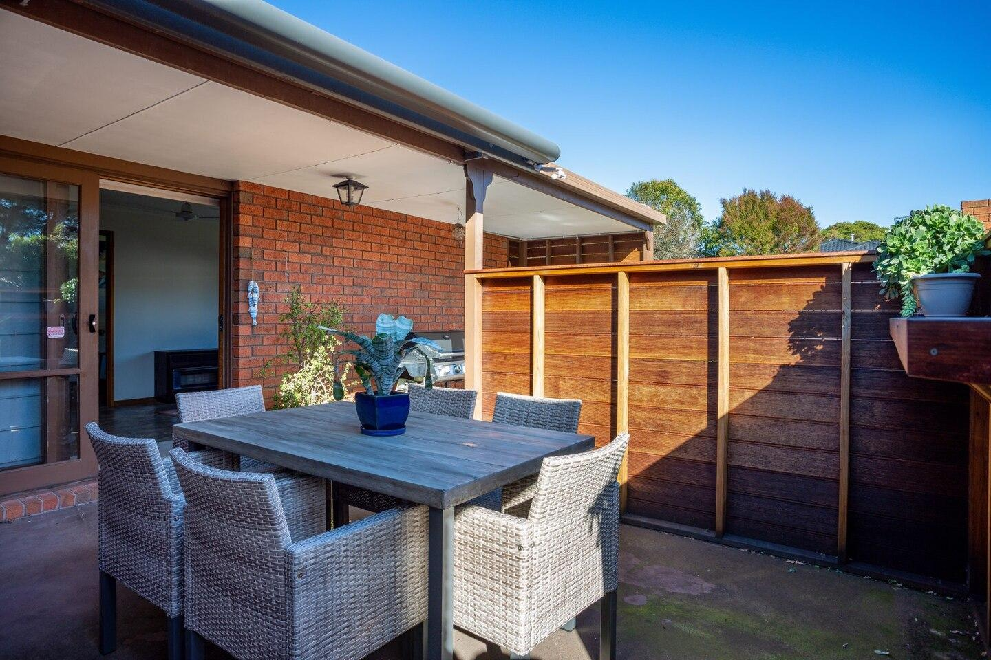 Foreshore Beach House: ideal family location