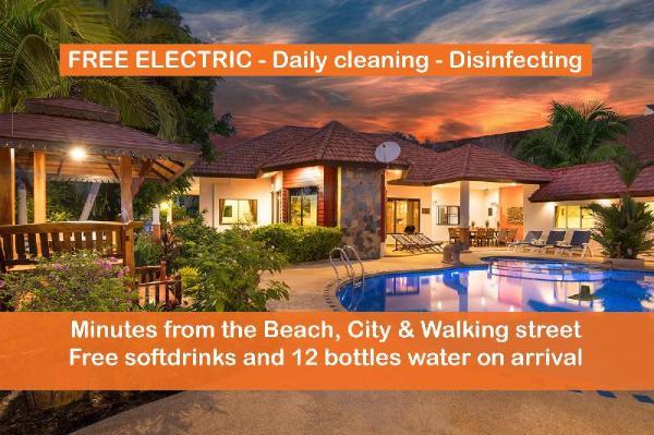 Pattaya Hill, FREE ELECTRIC, Minutes to City/Beach Pattaya