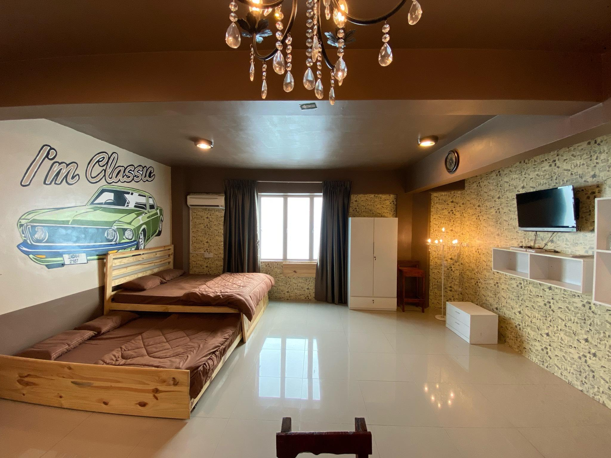 Classic Family Bed&Breakfast Room