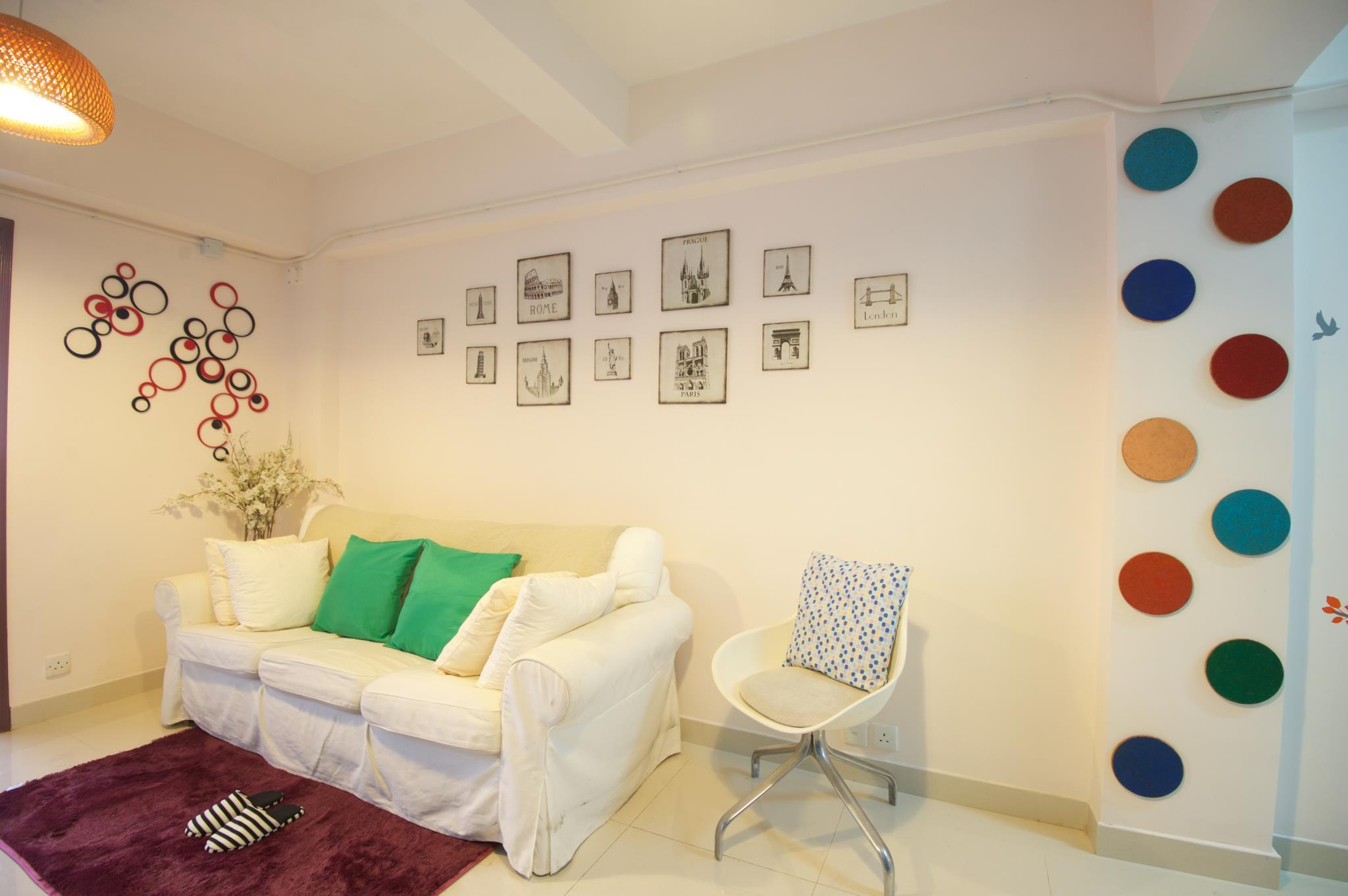 WC Downtown 3-bedroom Apartment MTR Downstairs C14