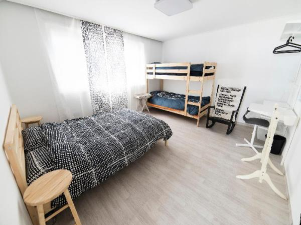 Jamsil Comestay KR - Double bed+bunk bed Room Seoul