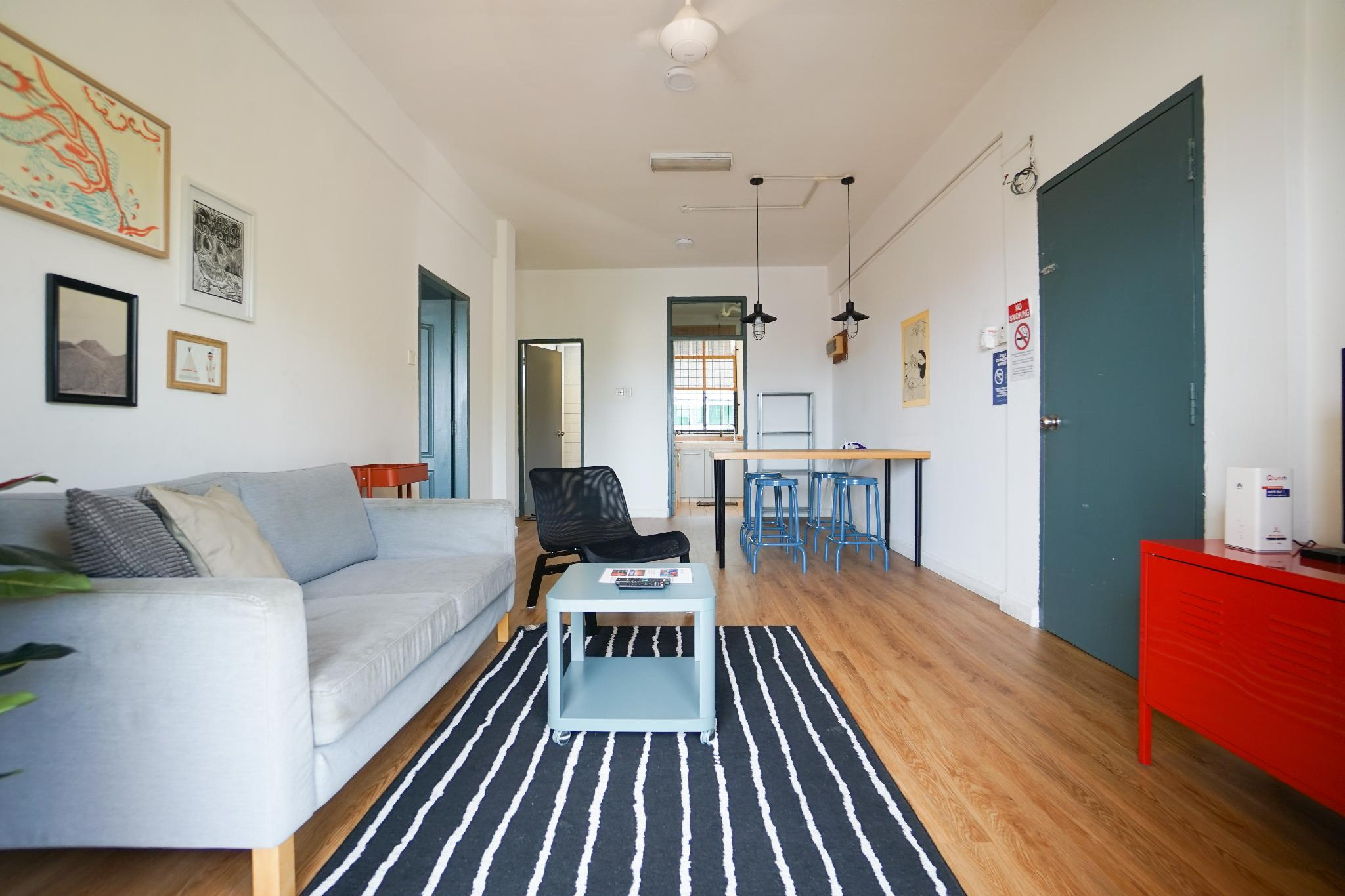 Bright And Spacious 2 Bedroom Apartment @ KK