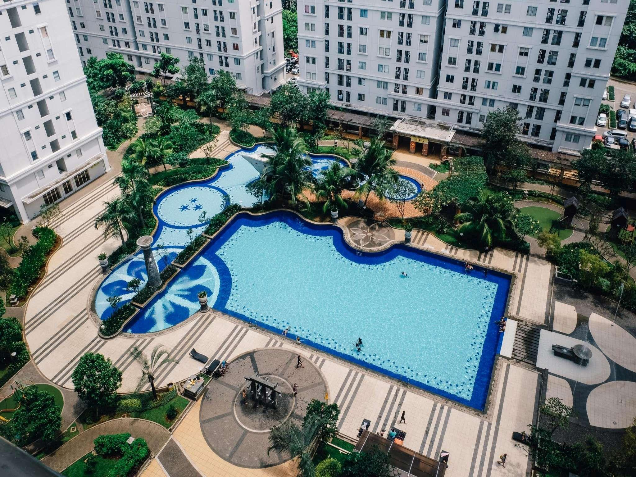 Kalibata City Green Palace Two Bed Room Free WiFi
