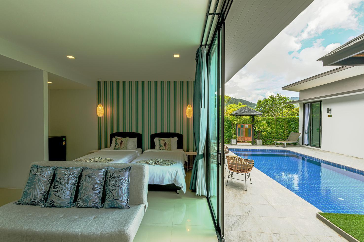 Les Palm Taraburi Pool Villa เล ปาล์ม ธาราบุรี พูล วิลลา