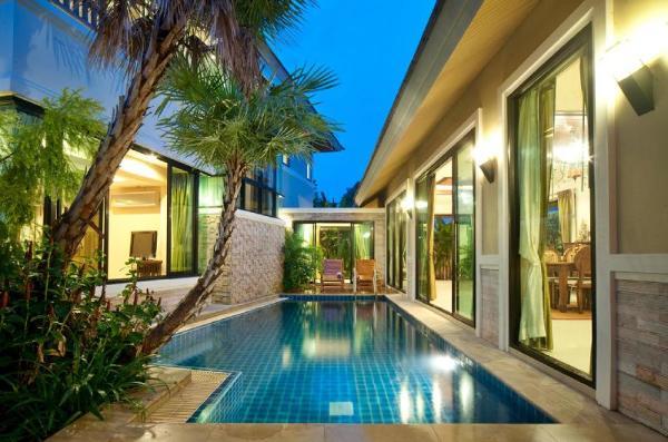 Natcha Pool Villa C Style Pattaya