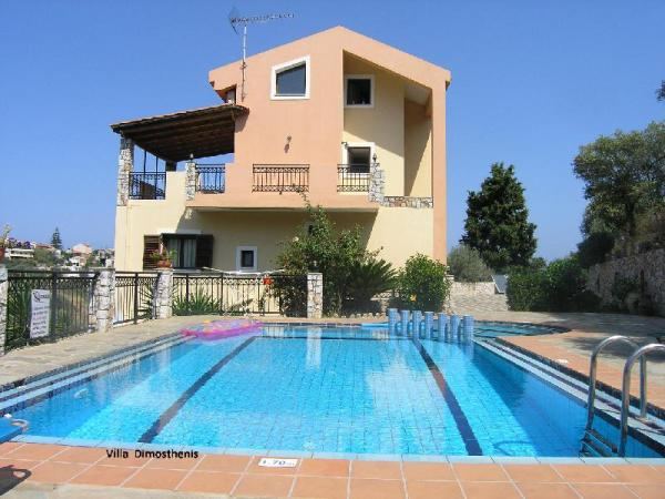 Villa Dimosthenis 4 Bedrooms with private pool Crete Island