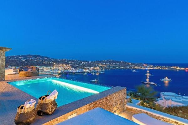 NEW! The Myconian Gem Luxury Villa +path to Nammos Mykonos