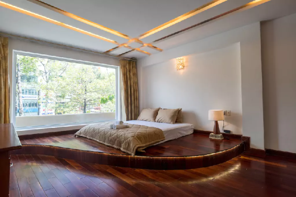 102sqm WOODEN APT with 2BR in Ben Thanh Ho Chi Minh City