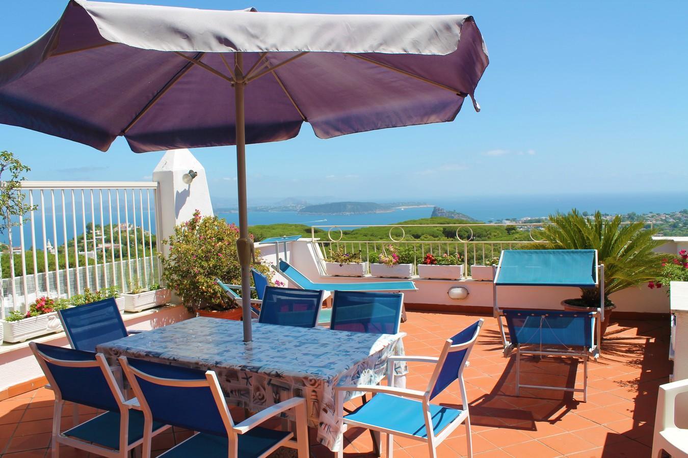 Villa La Favola Suite Ischia Terrace With View