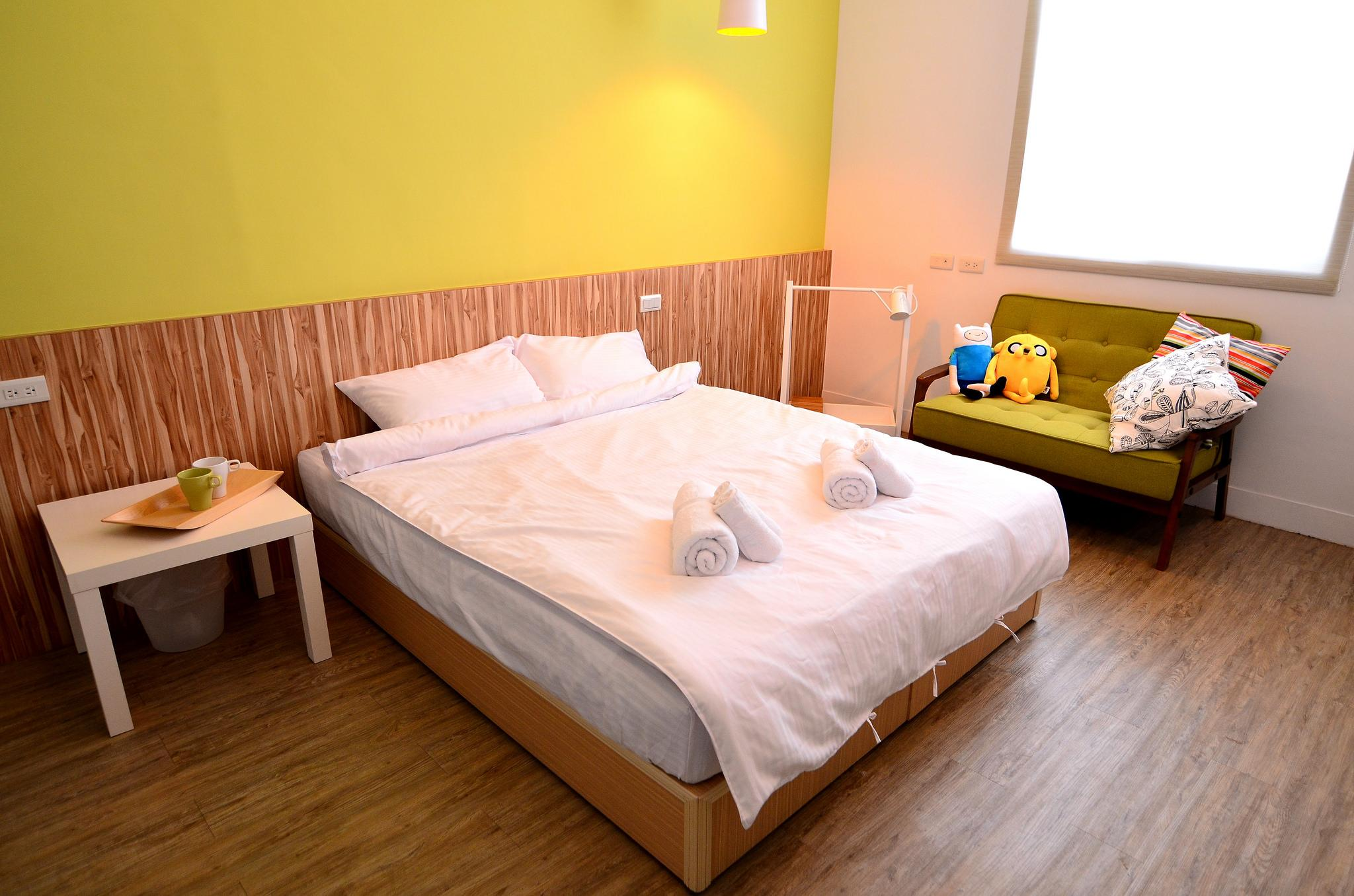 Tainan near T.S. Mall & Ambassador Theater - Leaf  hostel Y2 Double room