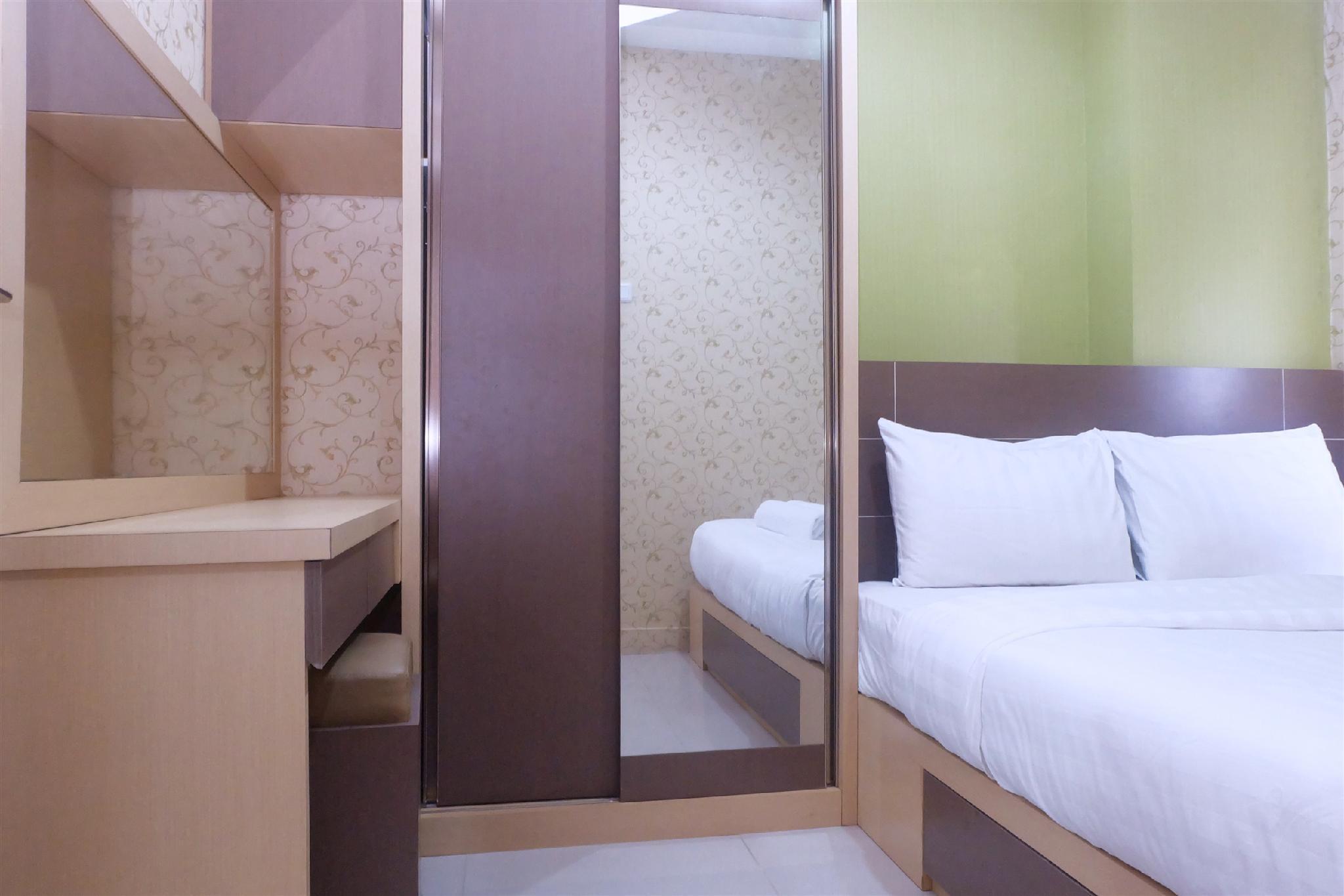 Best Price 2BR Green Pramuka Apartment By Travelio
