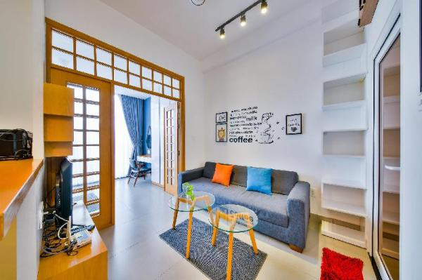 Serviced Apartment 3A.02 in Thao Dien ward, D2 Ho Chi Minh City