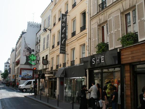 Hotel Prince Albert Opera Paris