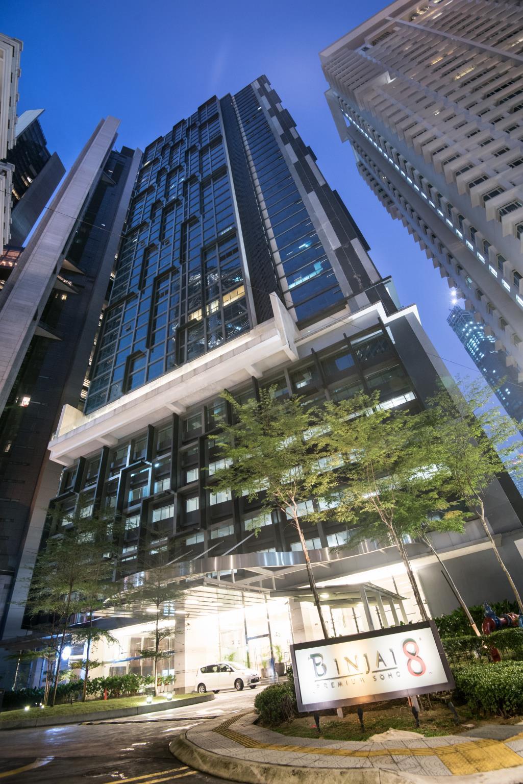 Binjai 8 KLCC By Luxury Suites Asia