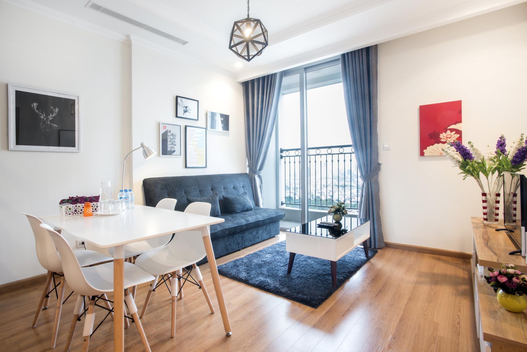 Vinhomes Scandinavian Apartment