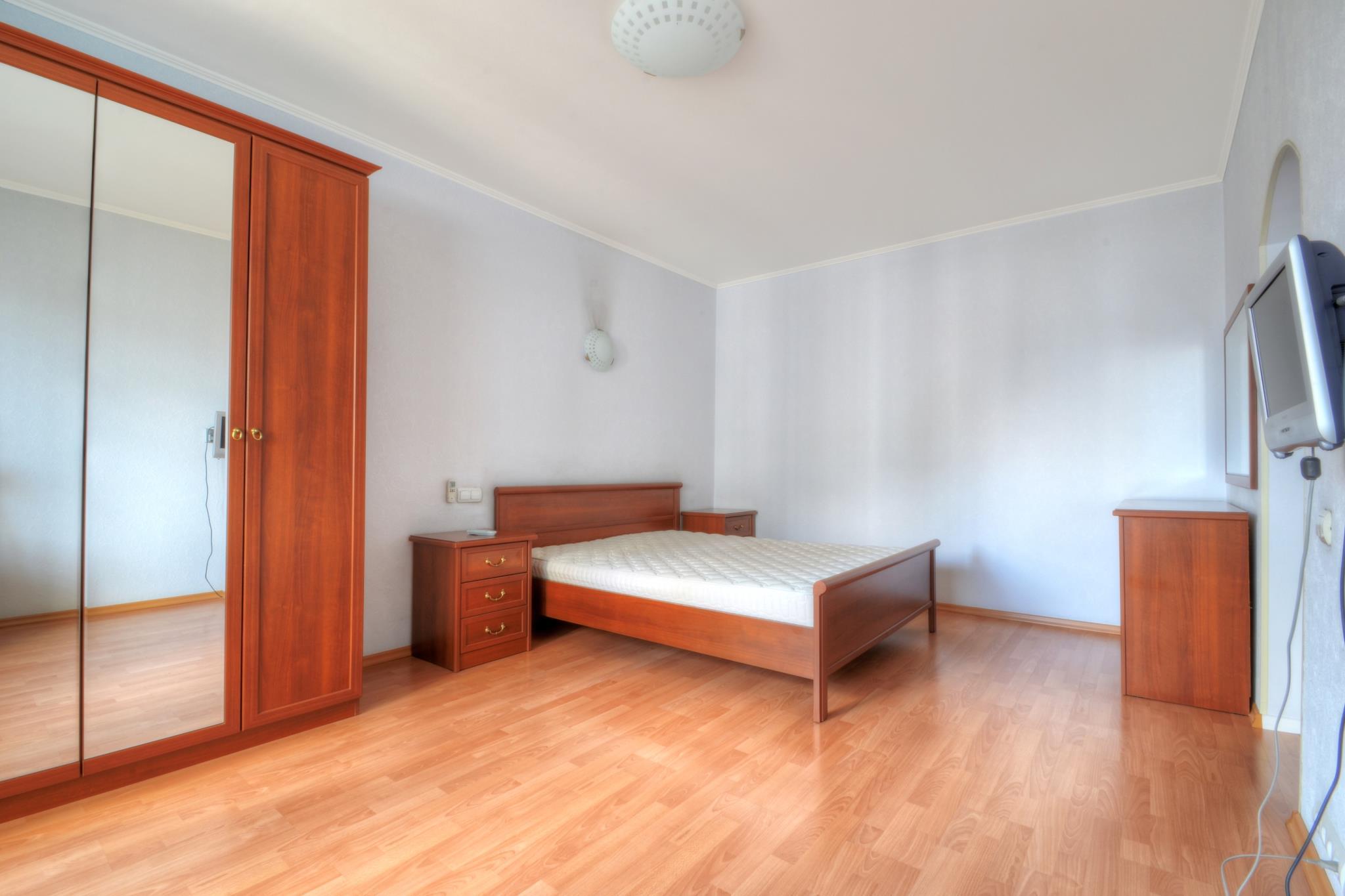 White Apartments At Mitino