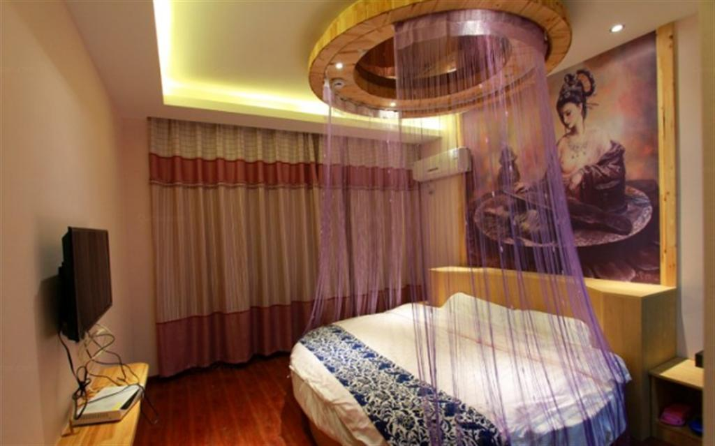 WUZHEN SHUYI RUOSHUI HOMESTAY Round Bed Studio 306