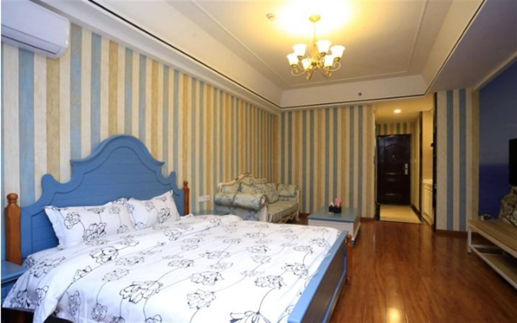 TAIGE Mediterranean Style 1 Bed Apartment Near Nansha Wanda Plaza