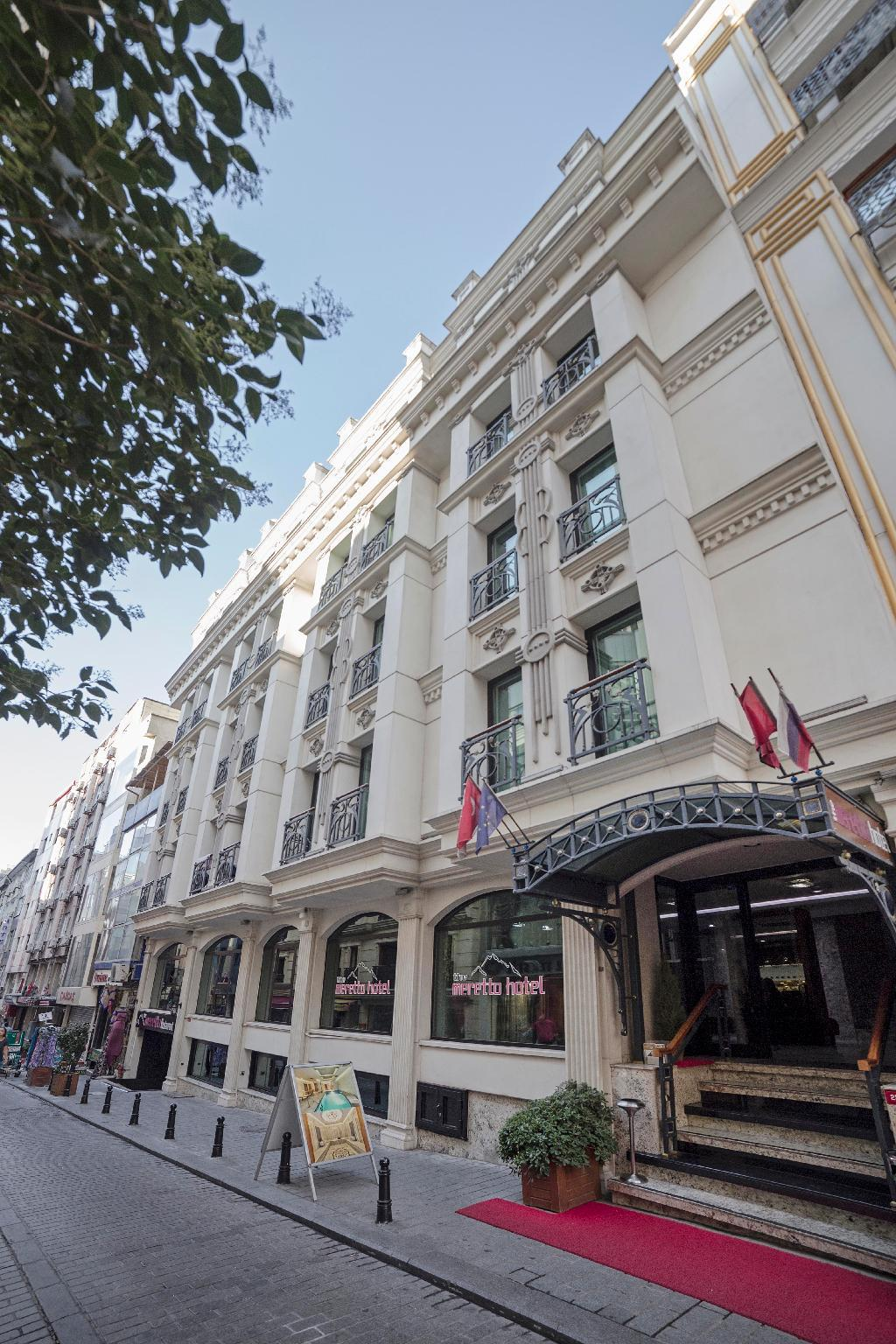 The Meretto Hotel Istanbul Old City