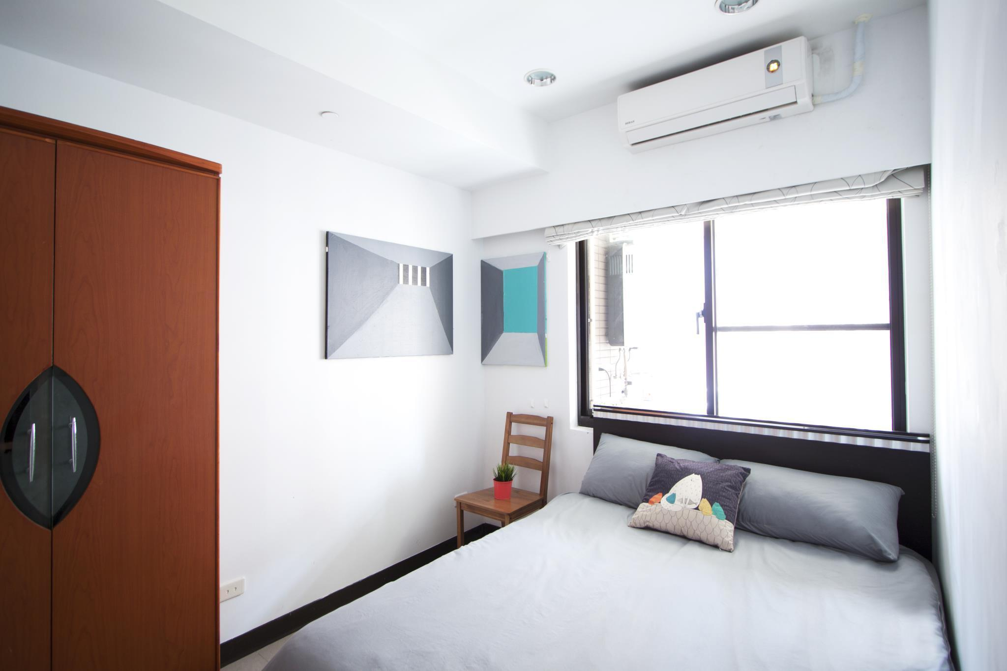 Two Bedrooms With Living Room