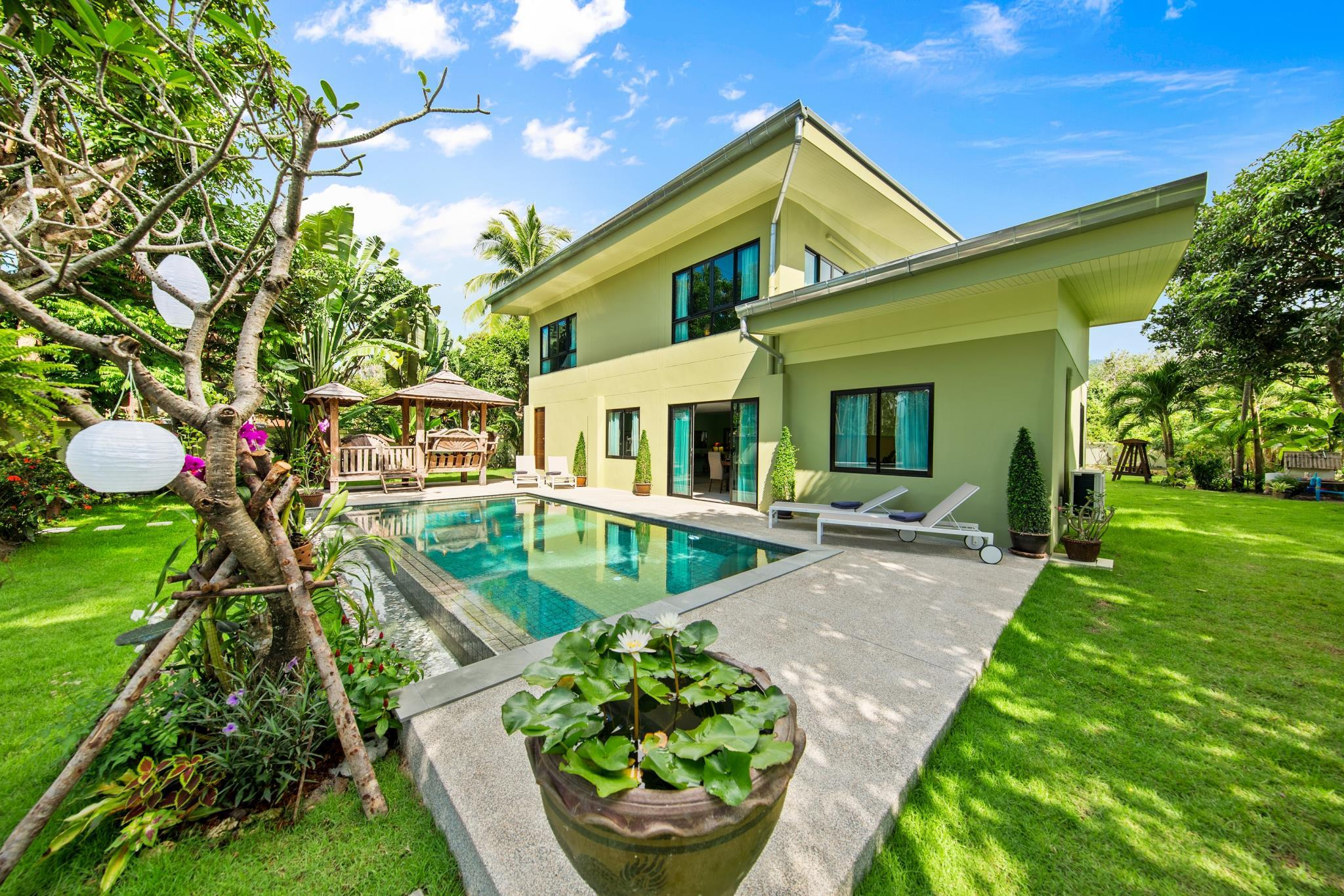 South Samui Serenity. Four Bedroom pool Villa Discount