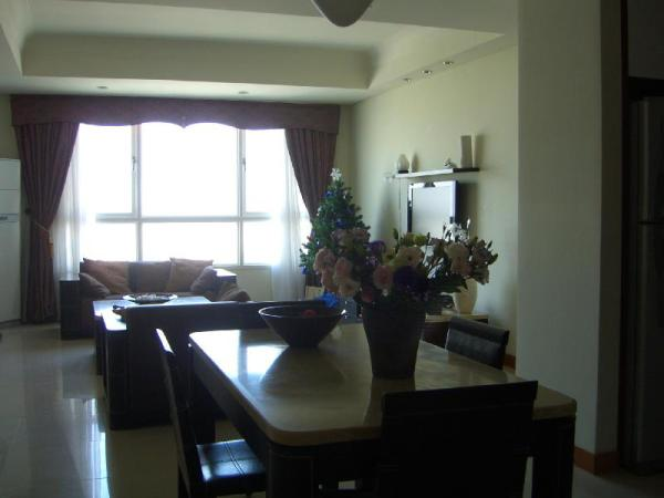 The nice apartment in central Ho Chi Minh City