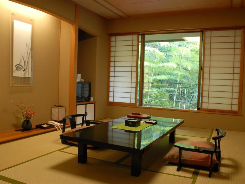 Taketoritei Japanese&twin Bed Room