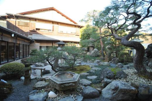 Japanese Garden Ryokan Yamazaki