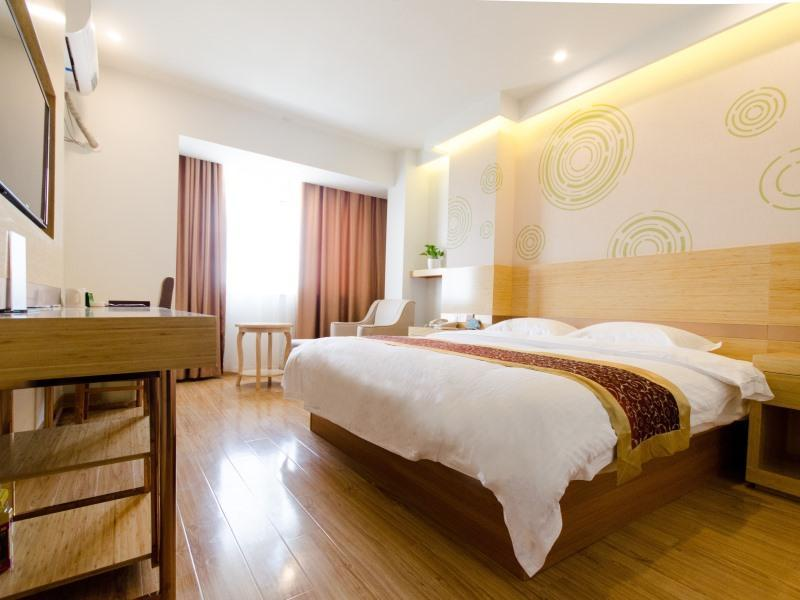 GreenTree Inn Suzhou North Zhongshan Road Weiye Yingchun Plaza Business Hotel