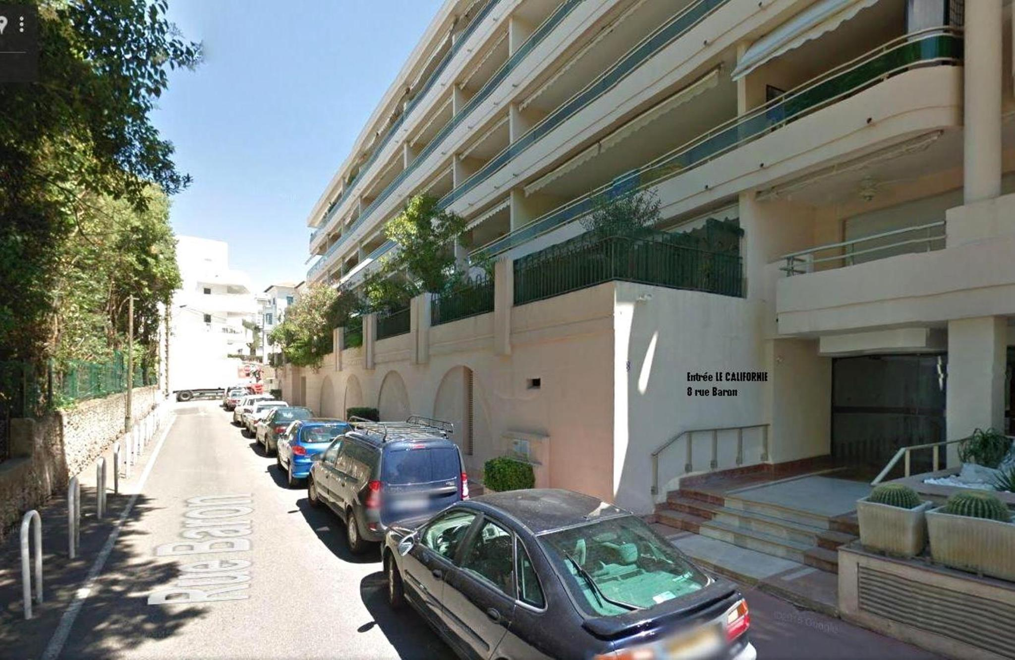 Studio Cannes Center Terrace And Garage